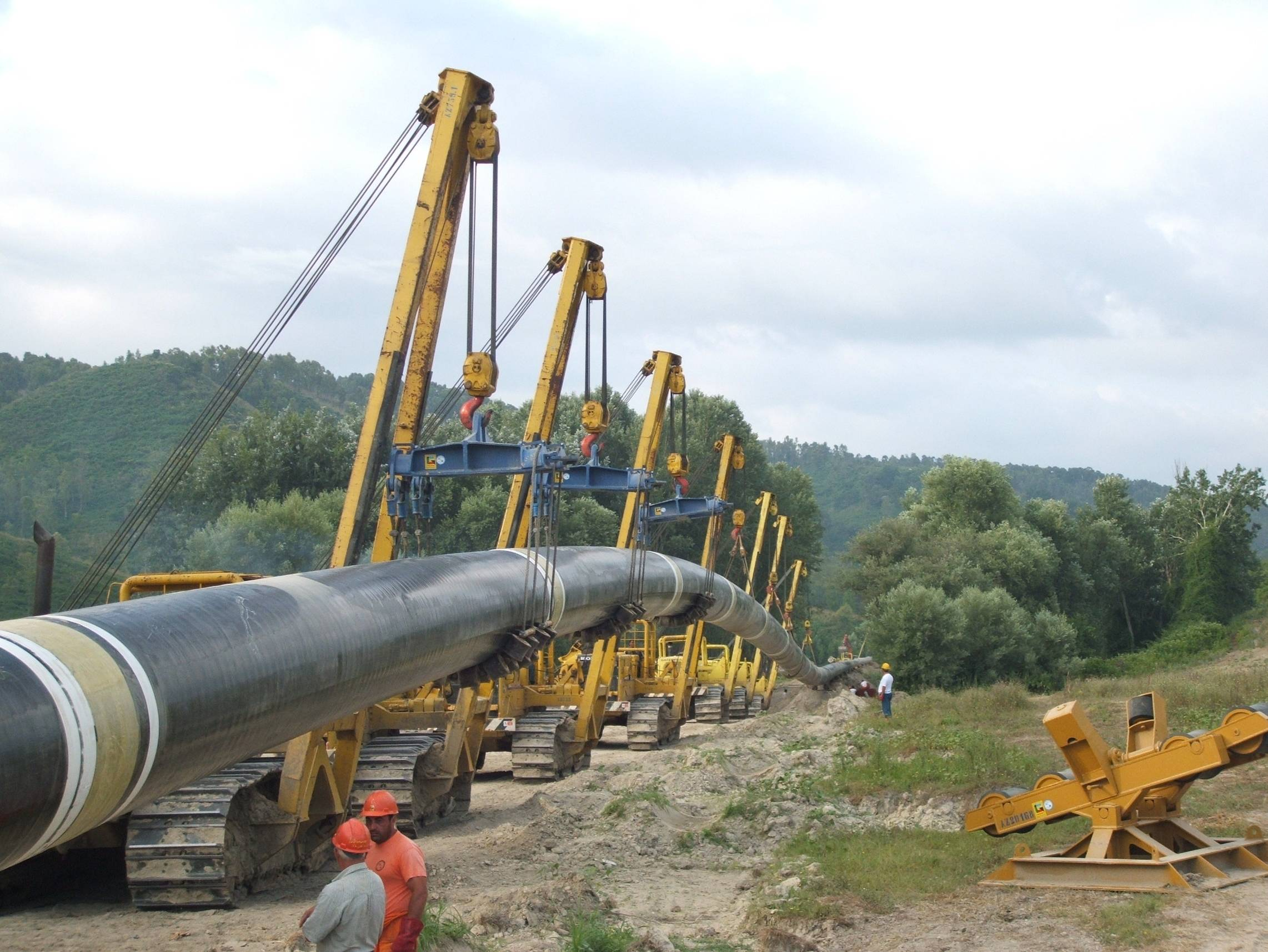 Pipeline-Construction